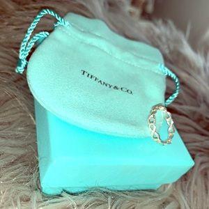 Tiffany Infinity Narrow Band Ring- Size 7